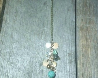 Junk Jewelry Charm Necklace