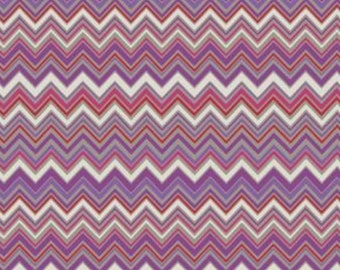 Zigzag Gypsy - 1 yard Cut - Free Spirits Prints - Cotton Fabric - Quilting Fabric