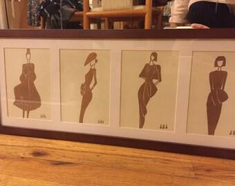 High Fashion Illustration Series