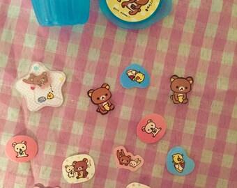 San-X Rilakkuma Sticker Cup RARE