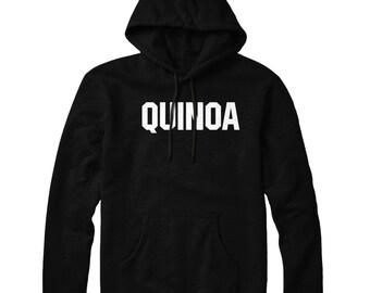 Quinoa Super Food HOODIE Slogan Mens Womens Hoody Top STP43