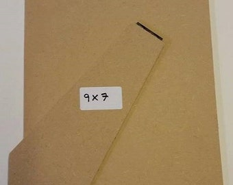 """9"""" x 7"""" 3mm Standback/Strutback for picture/photo frame."""