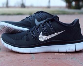 Rhinestone Nike Shoes