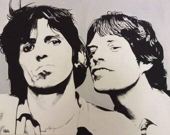 Keith e Mick