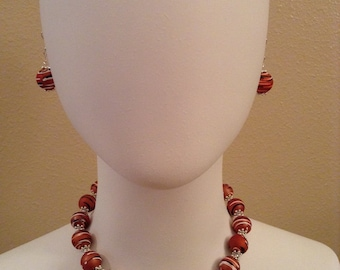 Coral/Brown Jewelry / jewelry Coral/Brown