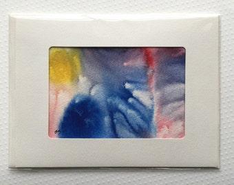 Original Watercolor Card - 064