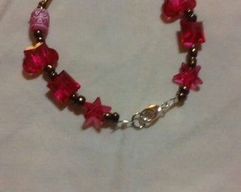 A One of a kind beaded bracelet handmade just for her
