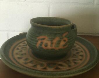 Dip dish Pate bowl