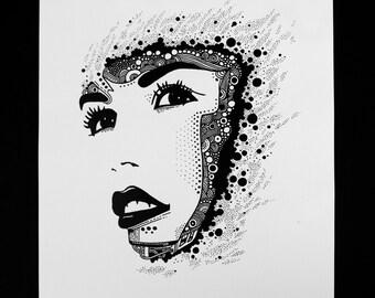 Woman of Divine Print