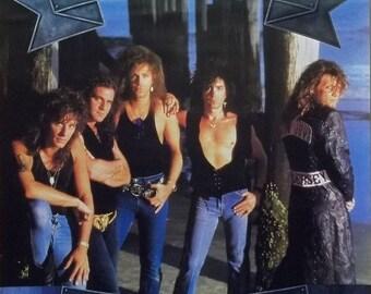 Jon Bon Jovi 24x29 New Jersey Promo Poster 1988