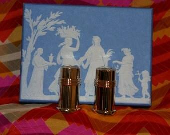 Wedgwood Salt and Pepper shakers in origial box