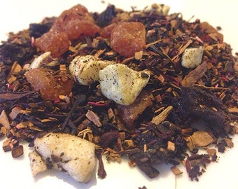 Apple Cider Tea, Loose Leaf, Honeybush Tea, Apple Tea, Red Tea, Cinnamon