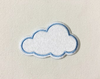 Cute Cloud Iron on Patch