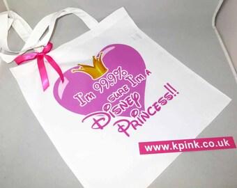 99.9% Disney Princess Tote Bag