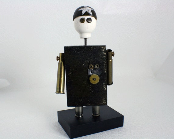 The General Steampunk Robot
