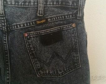 90's Acid Wash Wrangler Jeans 34x32