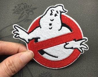 Ghost Busters Ghostbusters patch movie role patch cute funny Embroidery patches patch Embroidered patch iron on patch sew on patch
