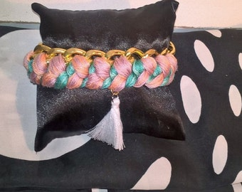 Bracelet Bangle and braid