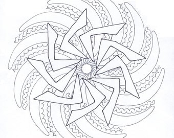 Coloring page SD94
