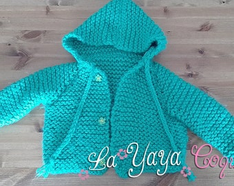 Wool coat for boys and girls