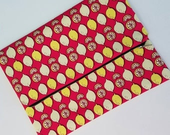 Pink Lemonade Fold Over Clutch