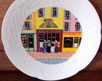 Limoges porcelain plate