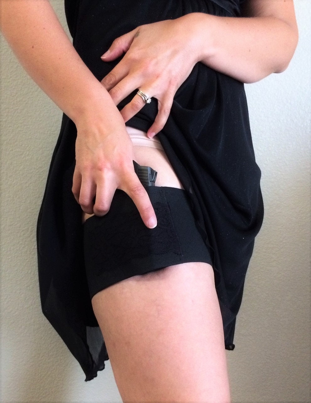 Womens Garter Concealed Carry Gun Holster