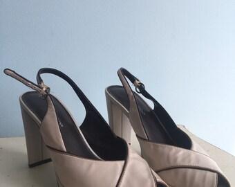 Size 7 sandal pumps/ heels