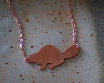 Beaver Necklace