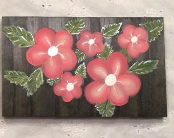 Handpainted Floral