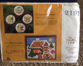 Darling Christmas crossstitch kit