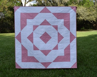 Baby Quilt: Emerson Patchwork (Free Shipping)