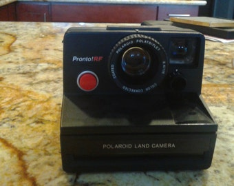 Polaroid Pronto RF Land Camera with extras!