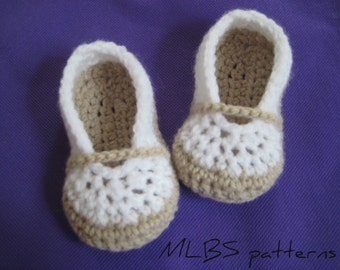 Crochet pattern baby booties Photo Tutorial  Instant Download Nr.29