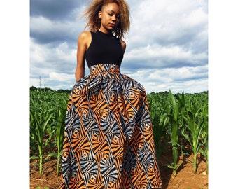 Tiger Maxi Skirt