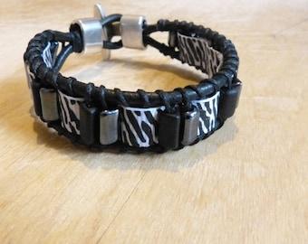 Bracelet Zebra man