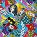 "Super Girl Fabric, Wonder Woman Fabric,  Bat Girl Fabric, Girl Power Fabric 100% Cotton Fabric, 26""x44"""