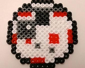 Star Wars Coasters made with Hama Beads