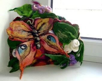 Bag Butterfly on flower