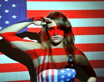 Proud of the USA; Patriotic photography