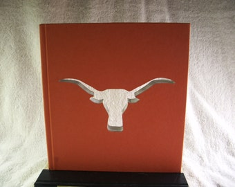 University of Texas Longhorn Book Cut Out
