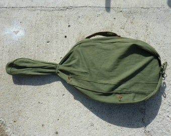Military Guitar Gig Bag Green Canvas Guitar Case Soviet Russian Bag Acoustic Guitar Bag College Gig Bag Vintage