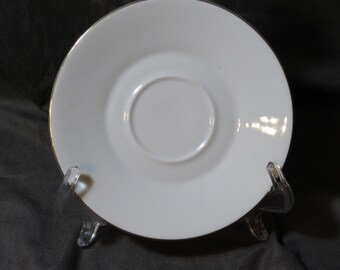 Vintage Creidlitz Saucer with Gold Trim
