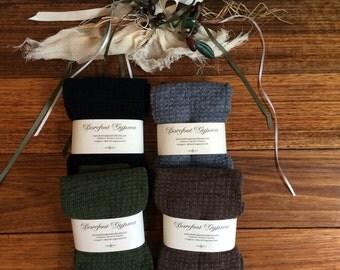 Extremely warm pair of leg warmers / black warmers / long open toe socks / legwarmers  Black, Olive Green, Brown, grey