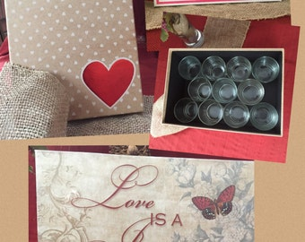 Box of 4oz soy candles