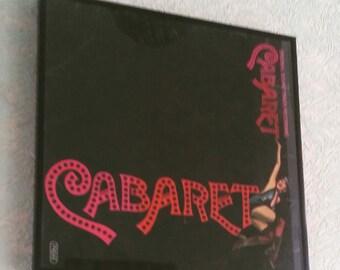 Vintage and kitsch Framed LP - Cabaret