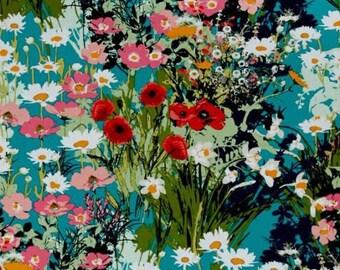 Art Gallery Fabrics Lavish Mother's Garden Rich Fat Quarter