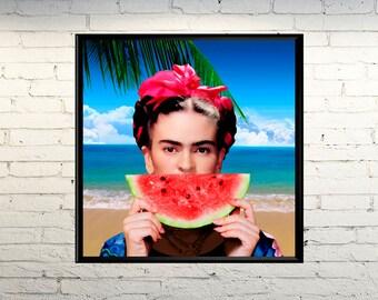 Frida Kahlo picture photo Poster image portrait