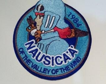 "Embroidered badge ""Nausicaa of the Valley of winds"", Hayao Miyazaki"