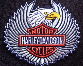motorcycle patches Embroidery Iron On Patch eagle Patch biker